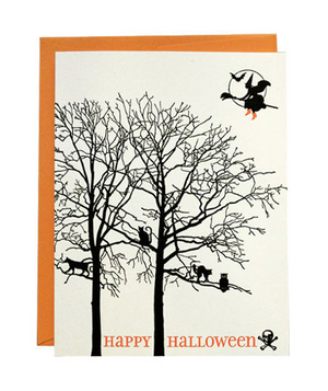 Greenwich Letterpress Trick or Treat