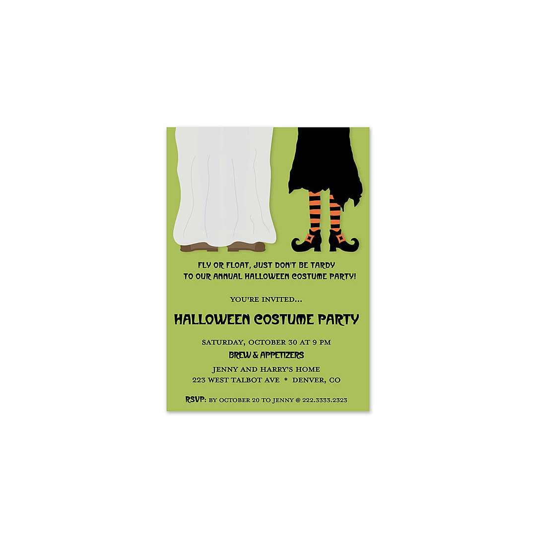 Costume Pair Invitation