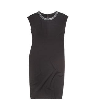 Magaschoni stretch-wool dress