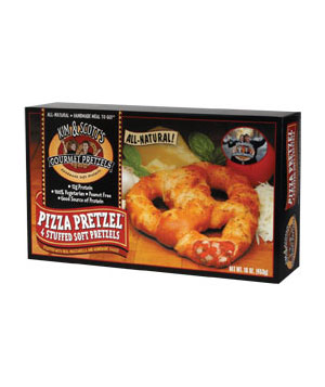 Kim and Scott's Gourmet Pretzels Pizza Pretzel