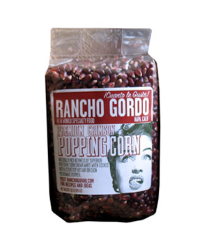 Rancho Gordo Premium Crimson Popping Corn