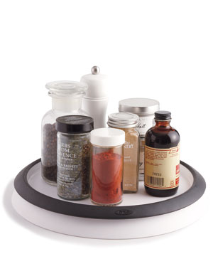 Lazy-Susan Spice Holder