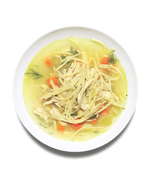 Chicken and Spaghetti Soup