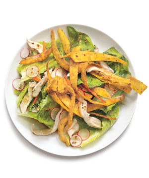 Chicken Salad With Crispy Tortillas