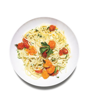 Spaghetti With Ricotta and Tomatoes