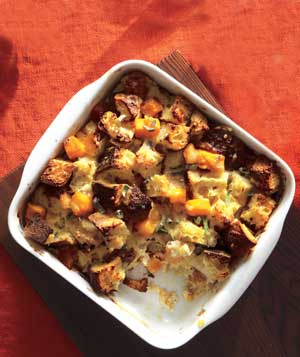 Butternut Squash Bread Pudding