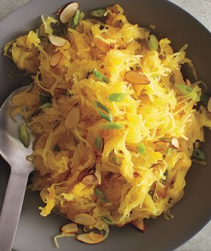 Spaghetti Squash With Almonds