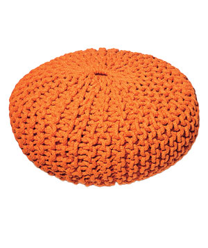 Vern Yip Home knit floor pillow