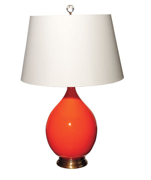 Capri lamp in Mandarin