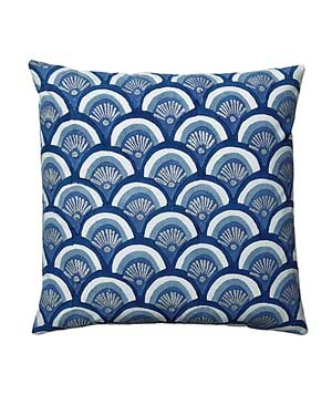 Indigo Kyoto Pillow Cover