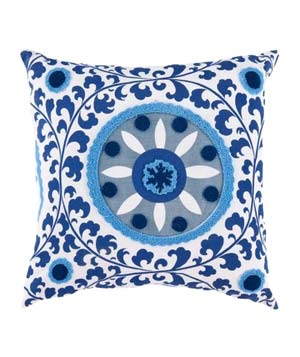 Printed Suzani Pillow
