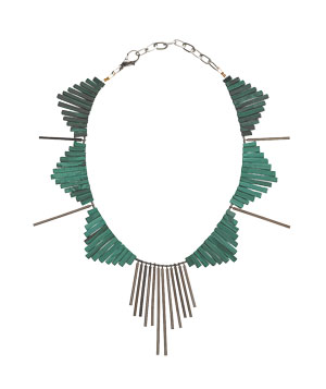 Gemma Redux at Fragments malachite necklace