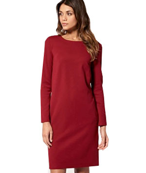 ASOS Long Sleeved Button Back Dress