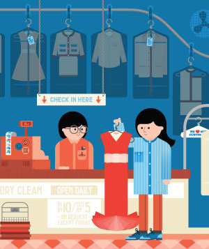 How to Save Money on Dry-Cleaning