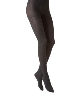 Calvin Klein 2-Pack Shine Chevron Tights