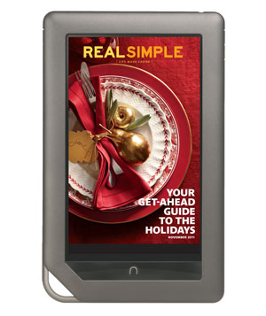 Real Simple on Nook