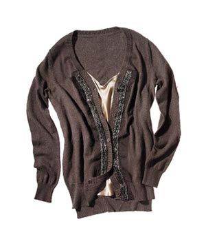 Simply Vera Vera Wang cotton-blend cardigan