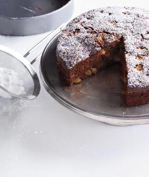 Apple-Molasses Spice Cake