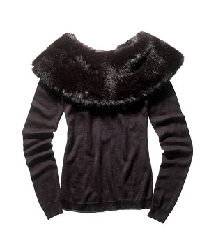 AK Anne Klein wool-blend sweater