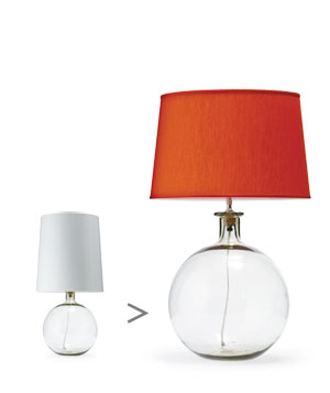 Geometric-base lamps