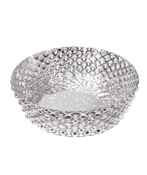 Silver Pineapple bowl