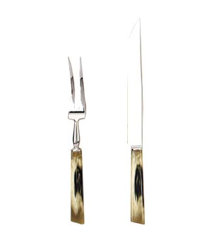 Madagascar resin serving set