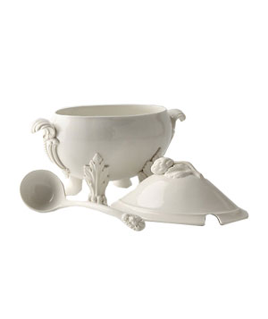 Beast's Feast stoneware footed tureen