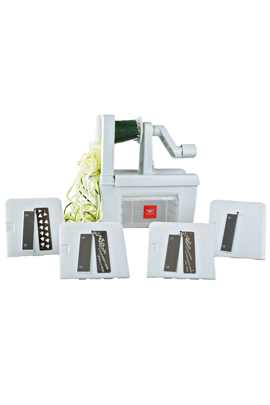Unique Gift Ideas Real Simple Circuit Board Desk Clock Uncommongoods Paderno 4 Blade Spiralizer
