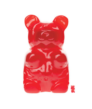 Giant Gummy Bear by Brosco