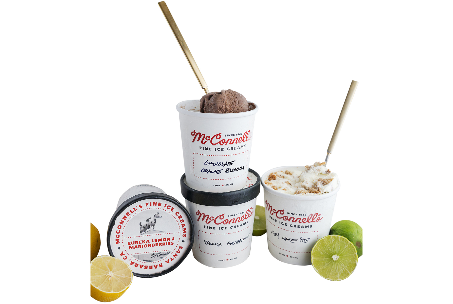 McConnell's Winter Citrus Ice Cream