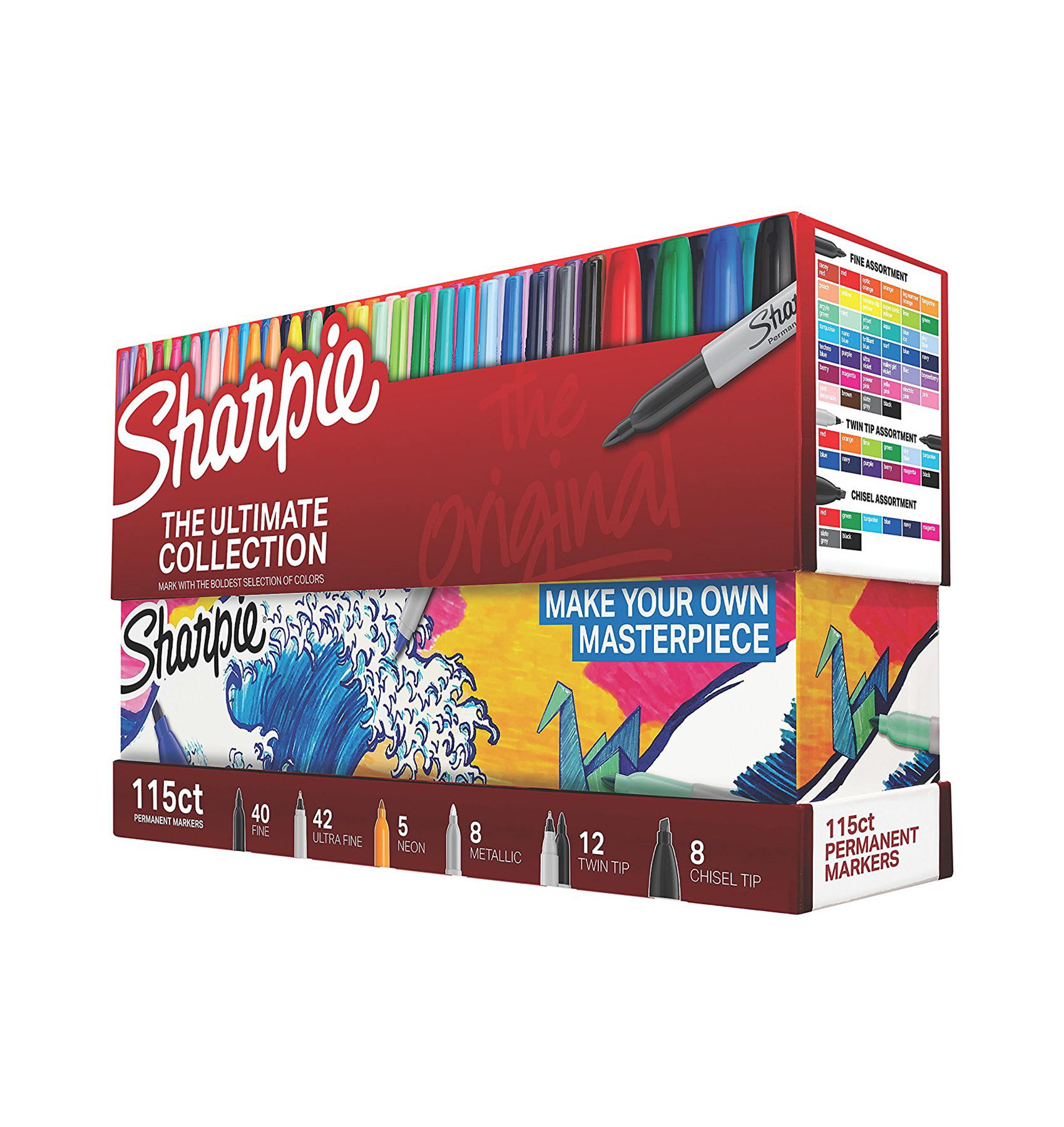 Sharpie 115 Piece Set