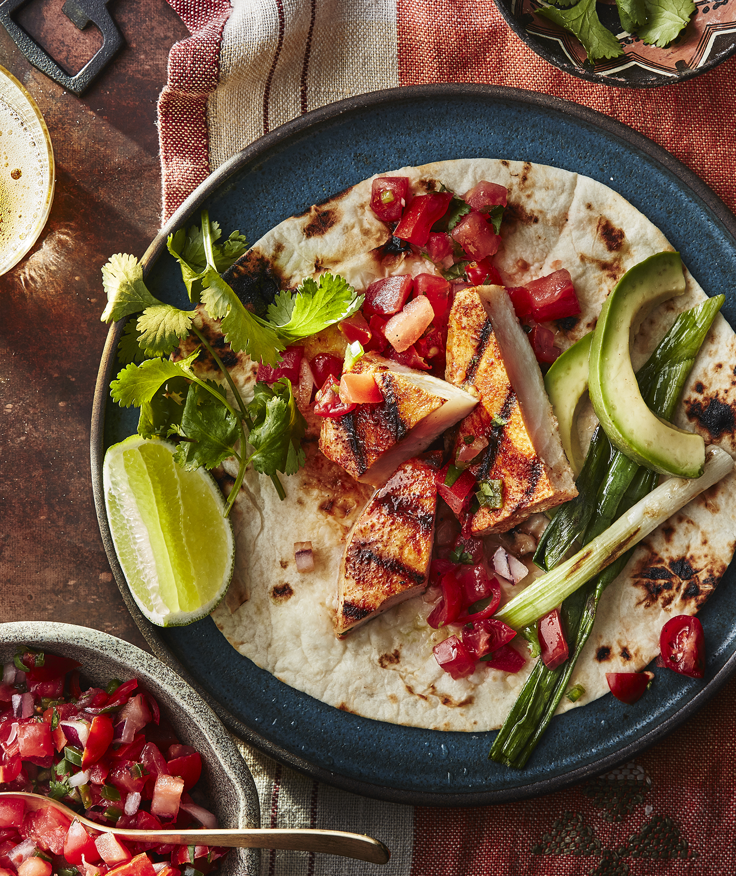 Grilled California Fish Tacos