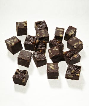 Dark Chocolate Walnut Fudge