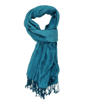 Forever 21 Shimmering Two-Toned Scarf