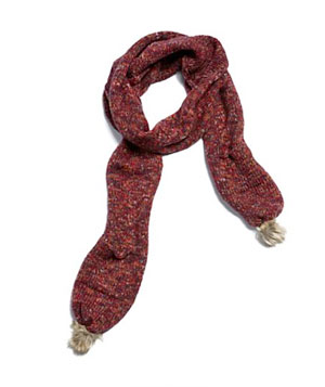 Lucky Brand Spacedye Knit Scarf