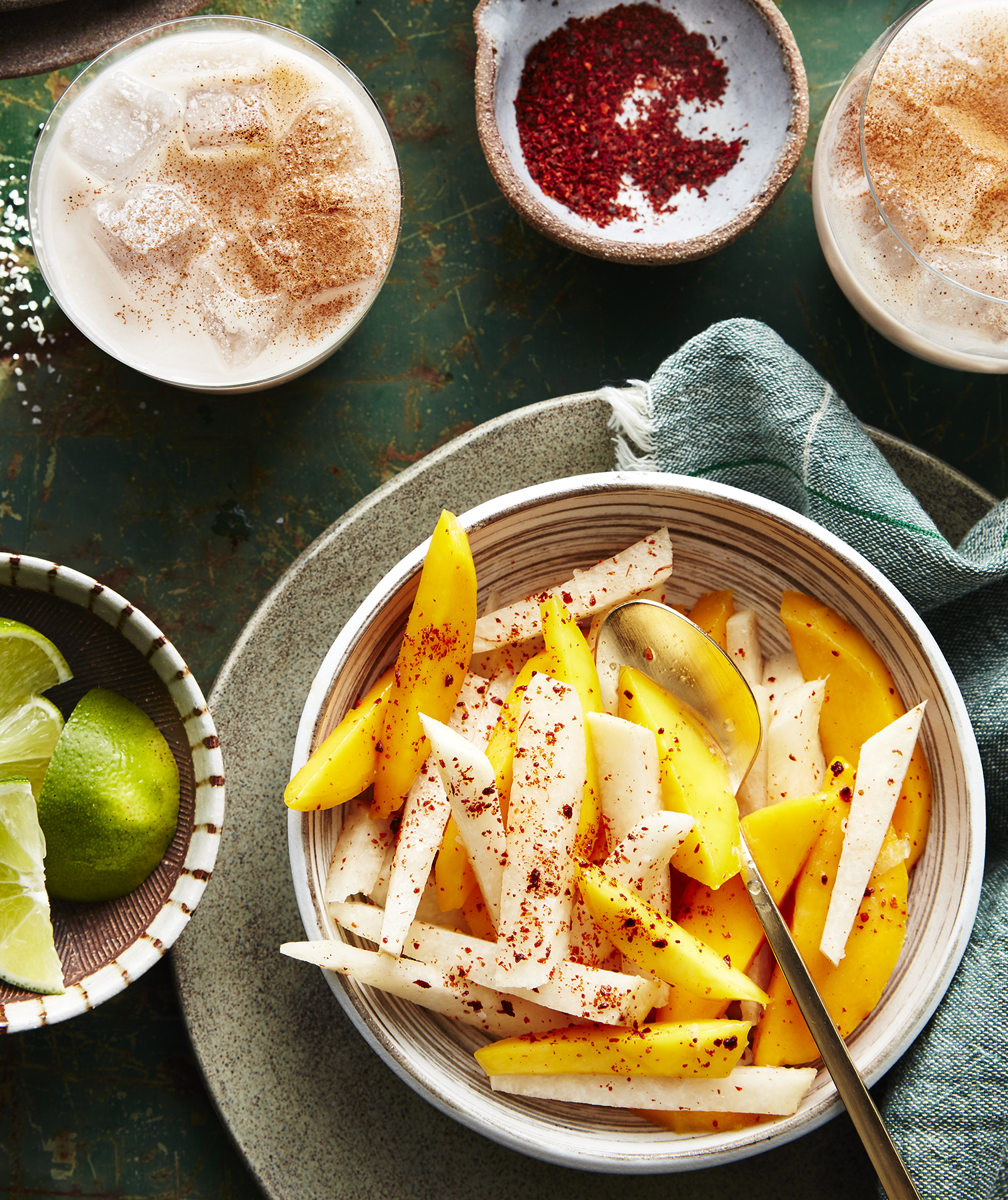 Chile-Lime Mango and Jicama