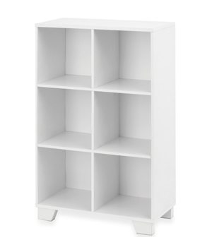 6-Cube Storage unit in White