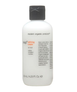 Modern Organic Products' Defining Cream
