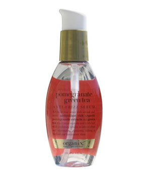 Organix Revitalizing Pomegranate Green Tea Anti-Frizz Serum