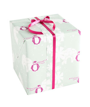 Igloo gift wrap