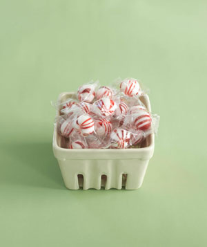 Peppermint dish