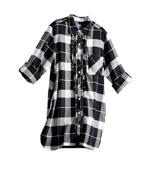 Simply Vera Vera Wang Fall Charmer Roll-Tab Sleepshirt