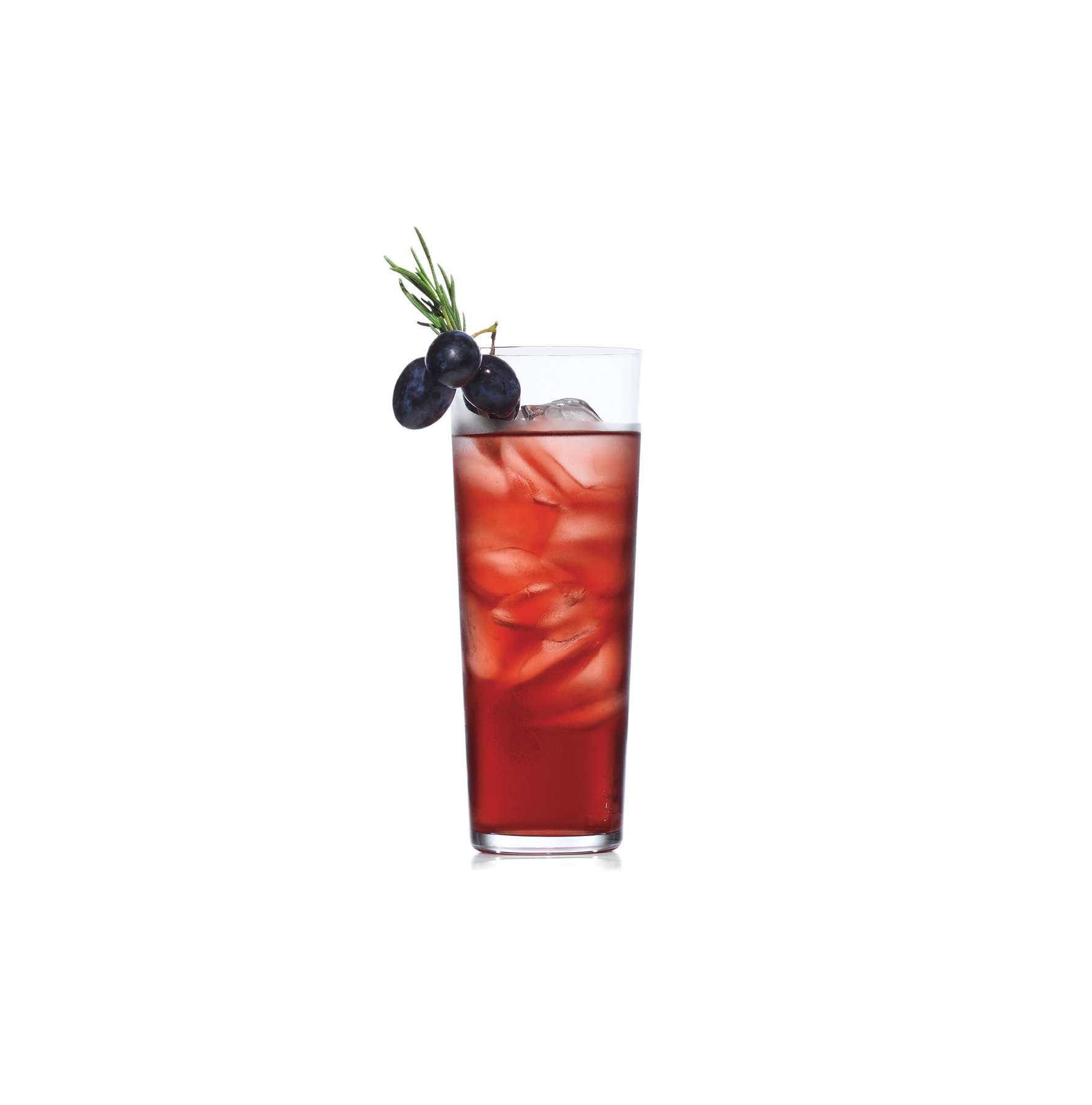Rosemary, Grape, and Gin Cocktails