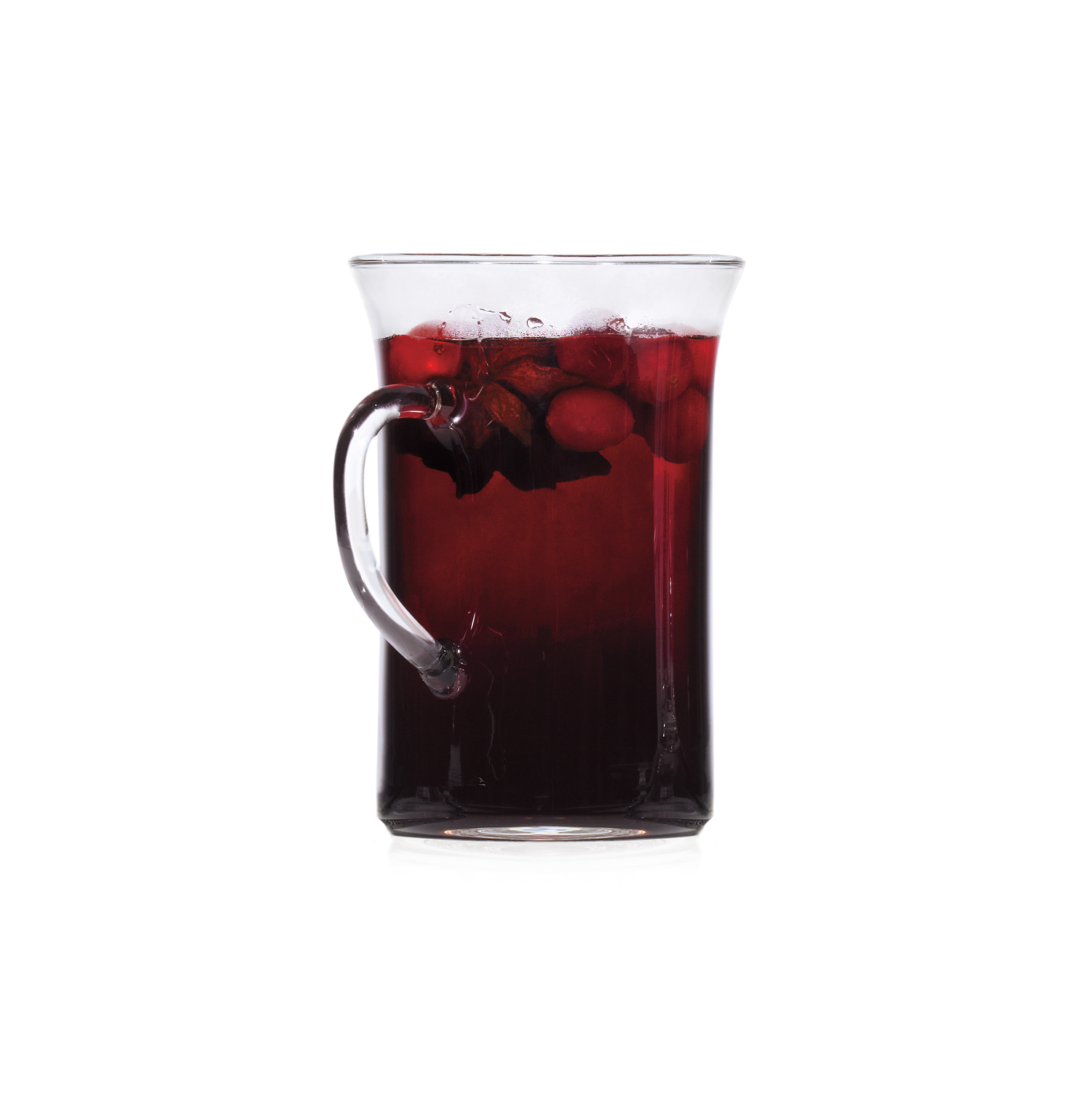 Mulled Wine With Cranberries