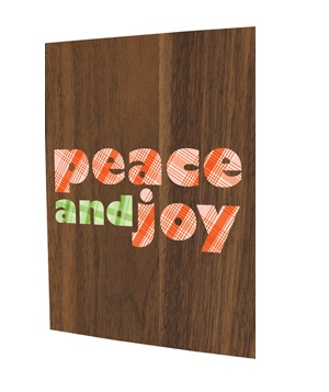Night Owl Paper Goods Peace and Joy