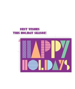 Holiday Disco Card