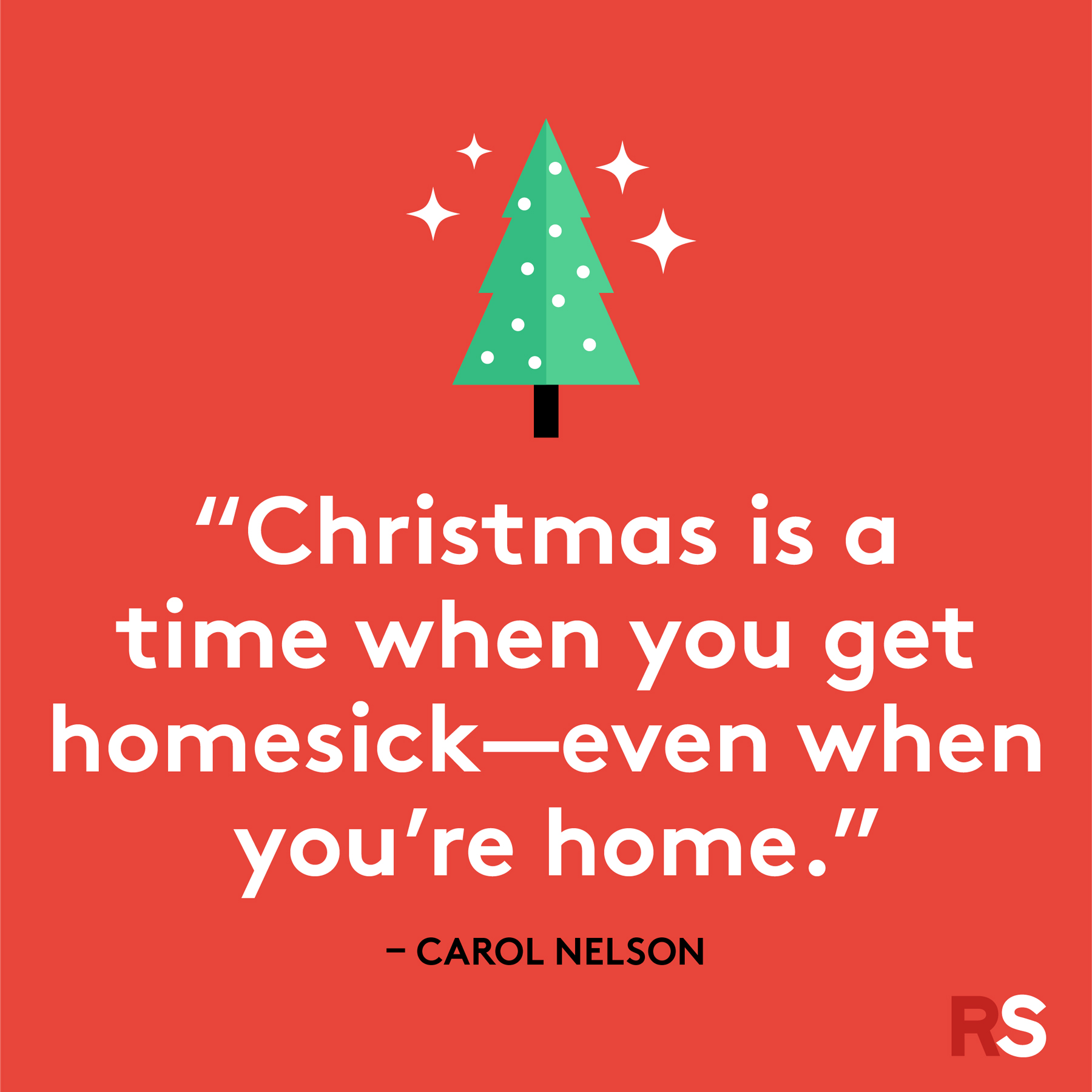 Best Christmas quotes - Carol Nelson