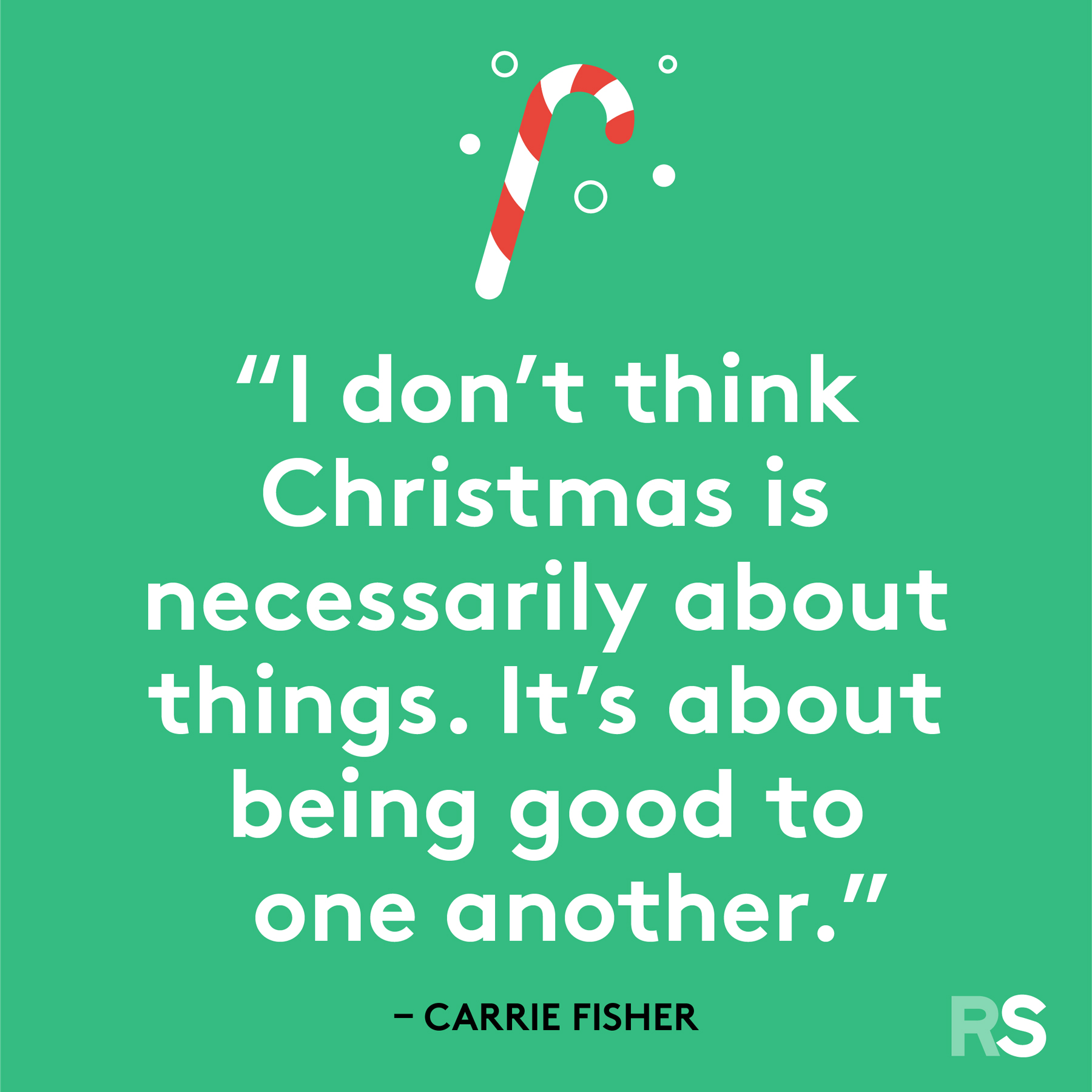 Best Christmas quotes - Carrie Fisher