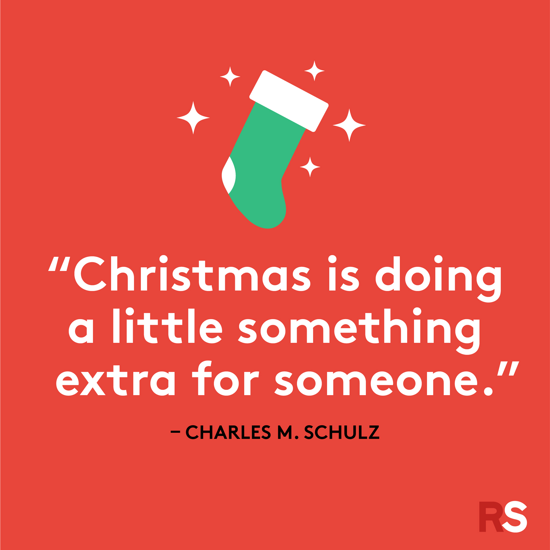 Best Christmas quotes - Charles M. Schulz