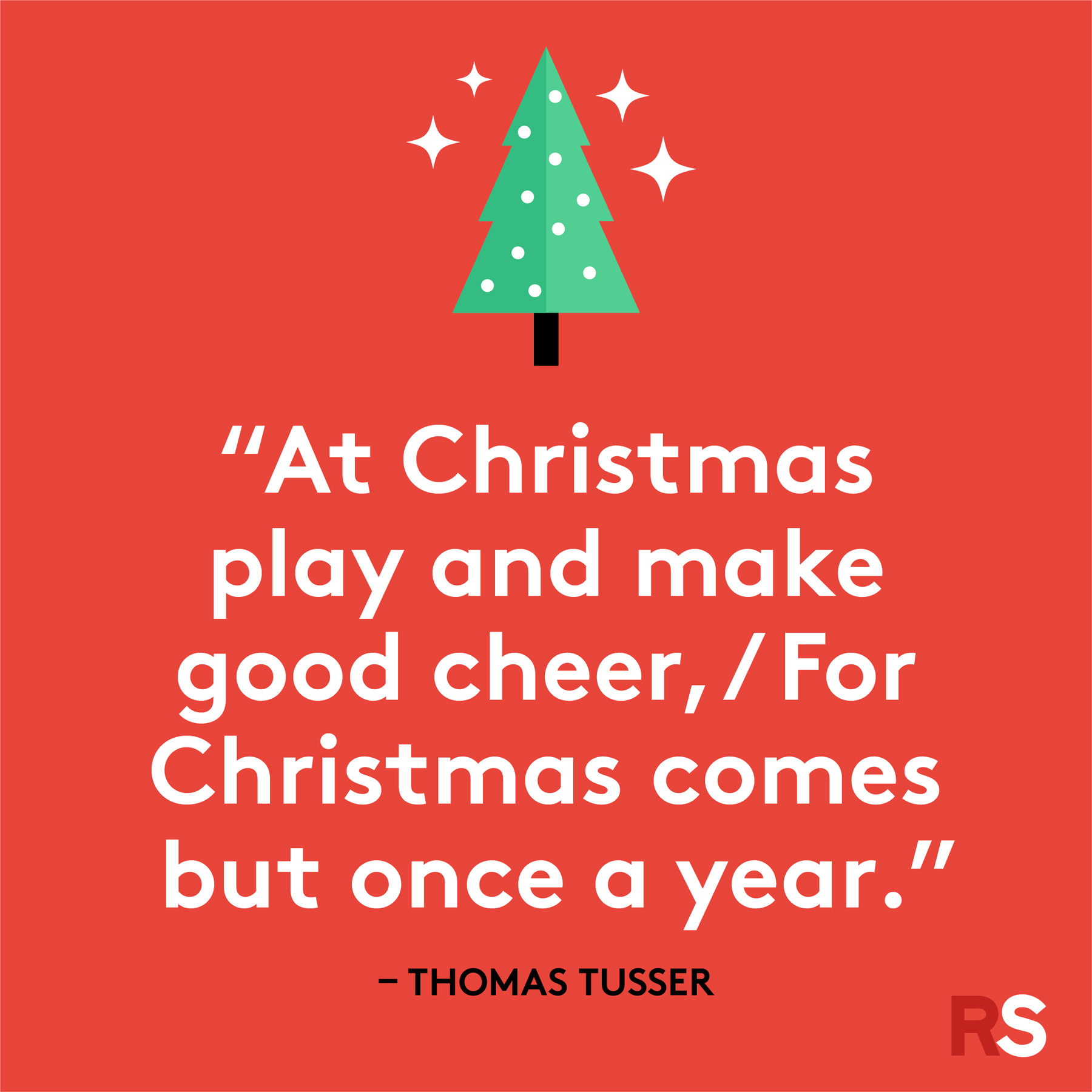 Best Christmas quotes - Thomas Tusser